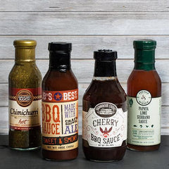 BBQ Grilling Sauces Collection - igourmet