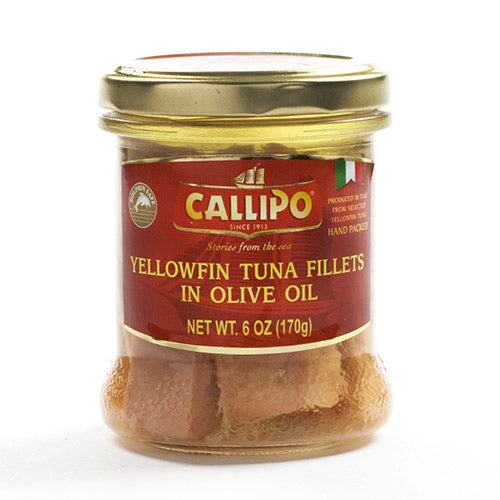 Italian Yellowfin Tuna Fillets in Olive Oil