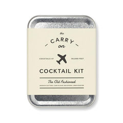 The Carry On Old- Fashioned Cocktail Kit - igourmet