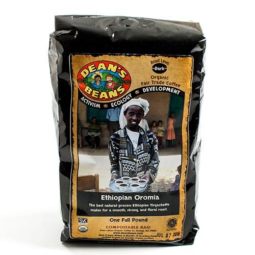 Ethiopian Organic Whole Bean Coffee