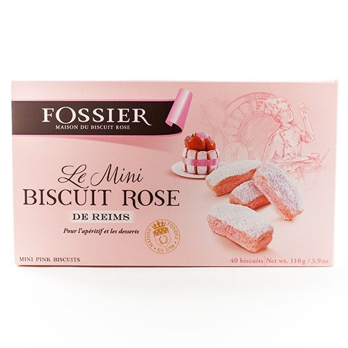Pink Champagne Biscuits