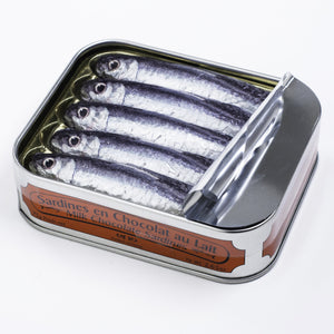 French Milk Chocolate Sardines Tin