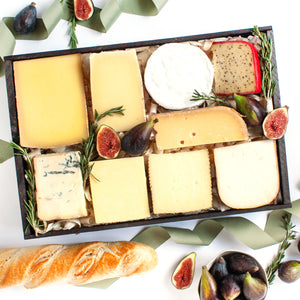 Cheese Lover's Sampler Gift Crate