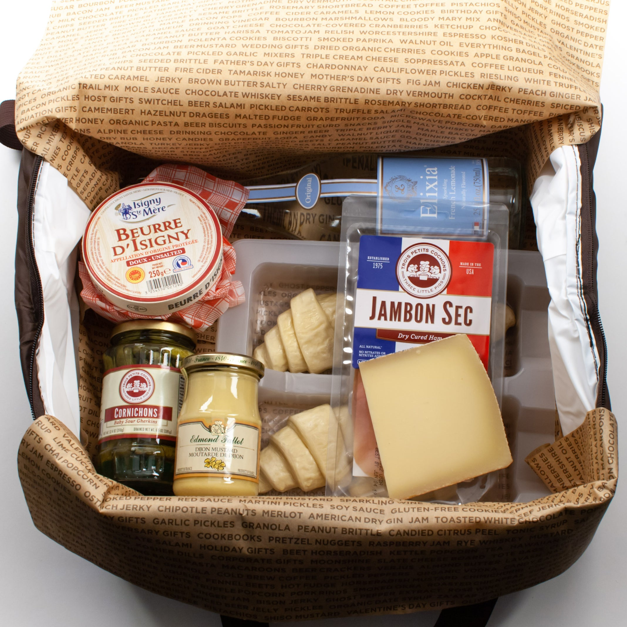 French Brunch Kit in Cooler - igourmet