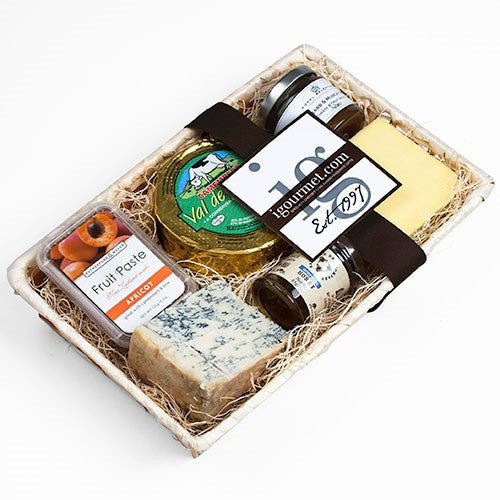 Favorite Cheeses & Accompaniments Gift Crate