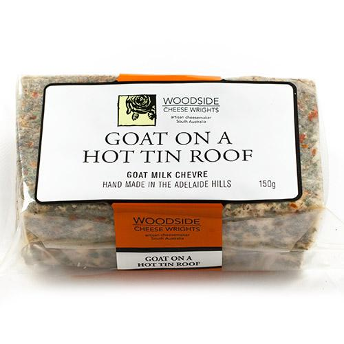 Goat on a Hot Tin Roof Cheese