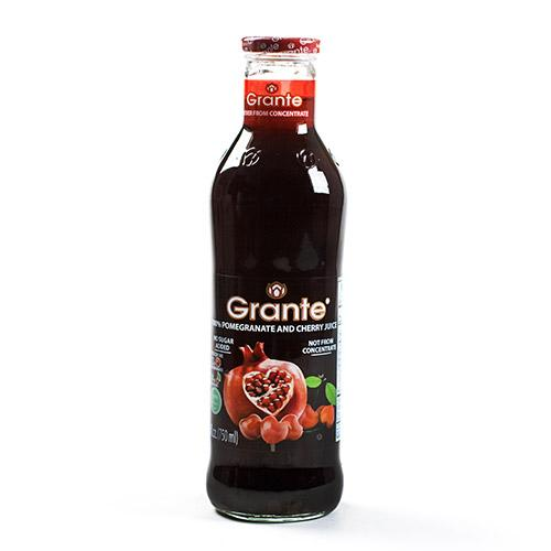 Pomegranate and Cherry Juice