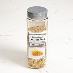 Granulated Lemon Peel - igourmet