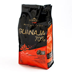 Guanaja 70% Chocolate Couverture Feves - igourmet