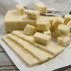 Garlic & Herb Cream Havarti Cheese - igourmet
