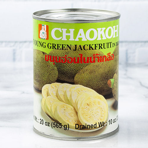 Young Green Jackfruit in Brine - Sliced