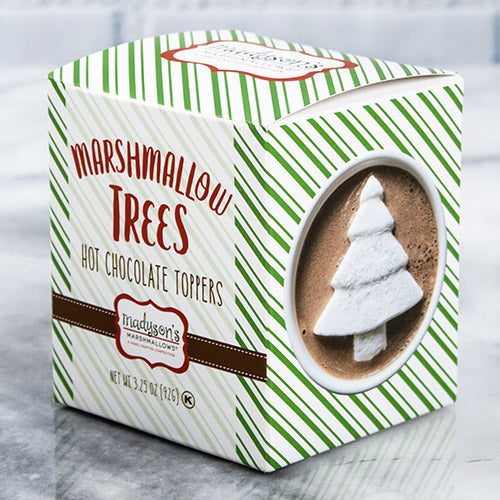Box of Christmas Tree Marshmallow Toppers