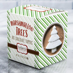 Box of Christmas Tree Marshmallow Toppers - igourmet
