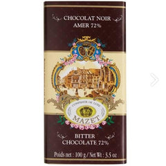 Chocolate Amer Noir 72% Bar - igourmet