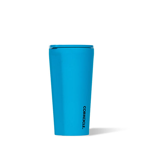 Neon Lights Blue Tumbler