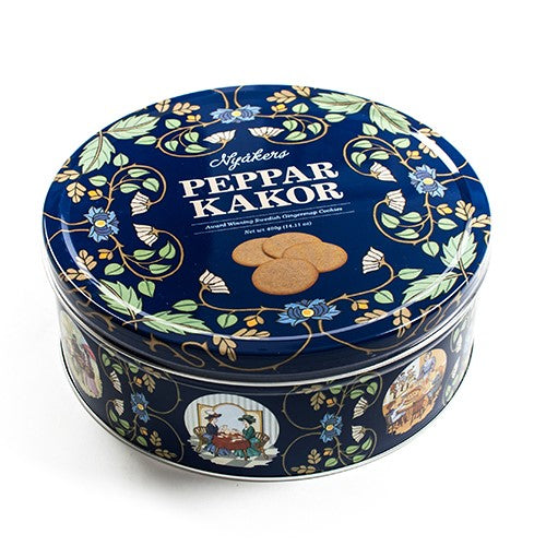 Pepparkakor - Swedish Ginger Snaps in Tin