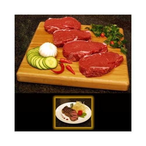 GrassFed Organic Piedmontese NY Strip Steaks