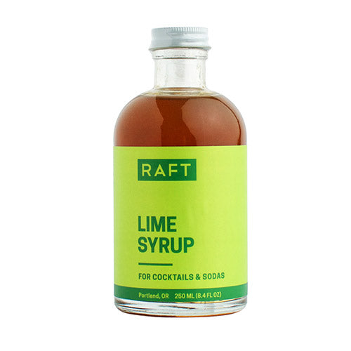 All Natural Lime Cocktail Syrup