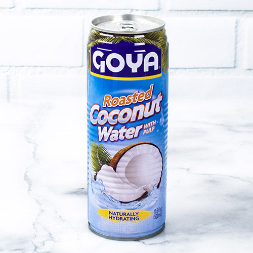 Roasted Coconut Water with Pulp