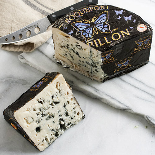 Roquefort Cheese AOP Papillon Black Label - igourmet