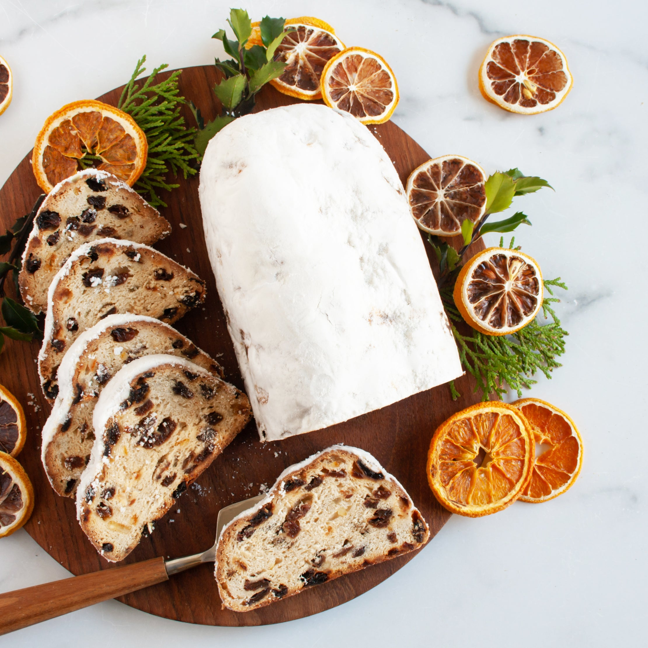 Stollen with Jamaican Rum