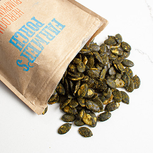 Turmeric Lime Heirloom Pumpkin Seeds