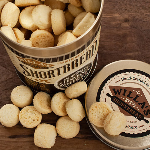 Tennessee Whiskey Shortbread in Tin