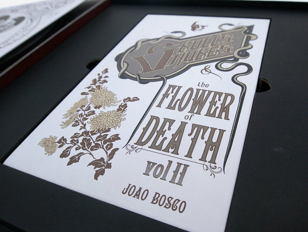 Skulls Snakes and the Flower of Death Vol. 2 by Joao Bosco