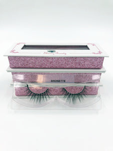 Shonette 3D Silk Eyelashes - False Eyelashes