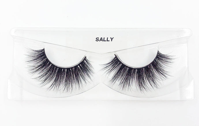 Sally 3D Mink Eyelashes - False Eyelashes