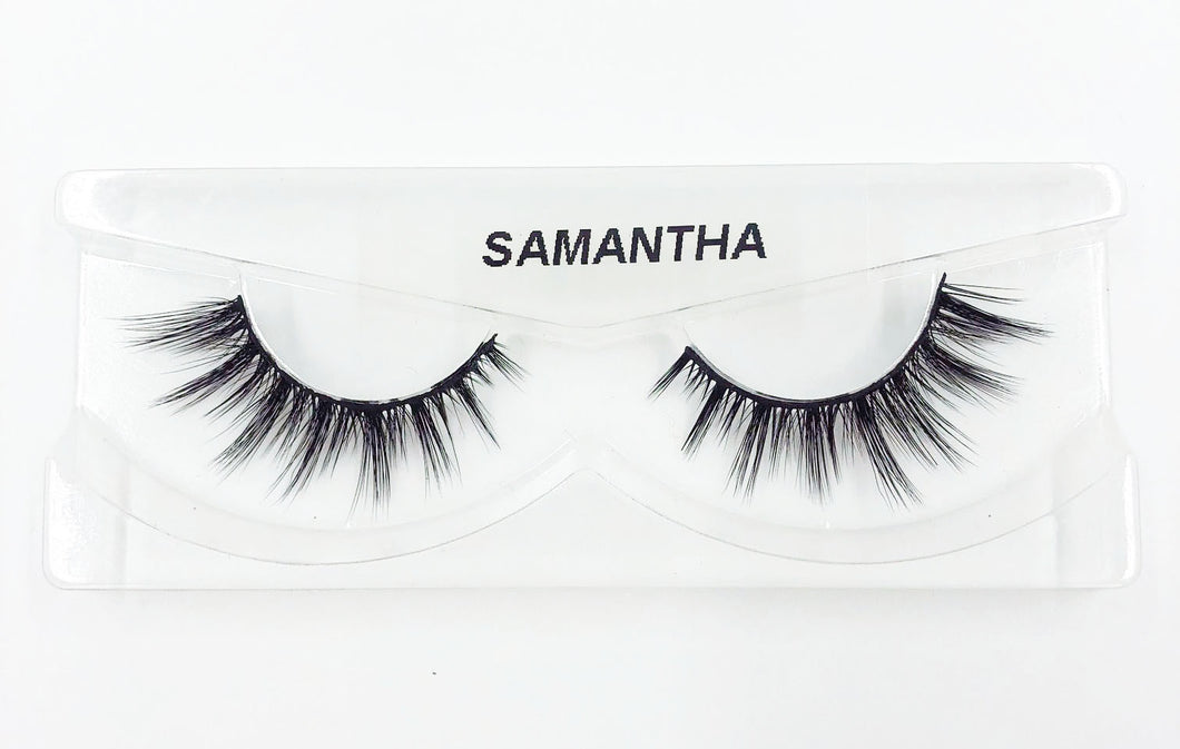 Samantha 3D Silk Eyelashes - False Eyelashes