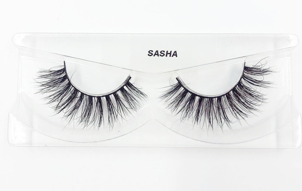Sasha 3D Mink Eyelashes - False Eyelashes