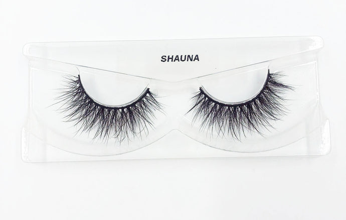 Shauna 3D Mink Eyelashes - False Eyelashes