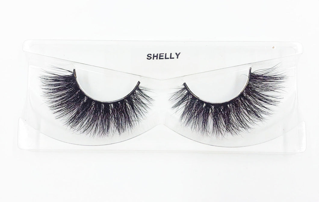 Shelly 3D Mink Eyelashes - False Eyelashes