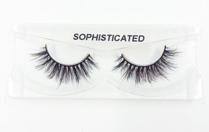 Sophisticated 3D Mink Eyelashes - False Eyelashes