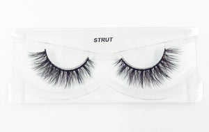 Strut 3D Mink Eyelashes - False Eyelashes