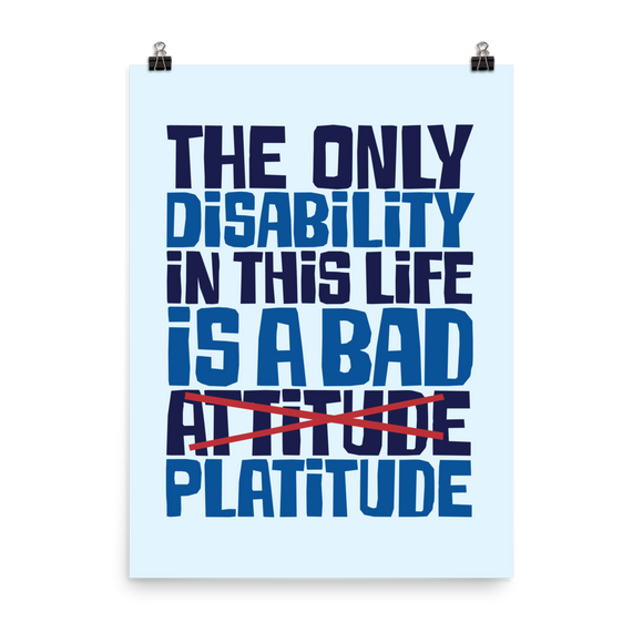 Disability Posters Graphic Art