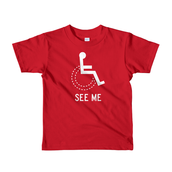 Disability T-Shirts Kid's  2-6 yrs. (Boys)