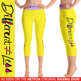 Capri Yoga Leggings Netflix's Raising Dion Esperanza Sammi Haney Different Does Not Equal Less