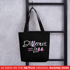 Tote Bag Netflix's Raising Dion Esperanza Sammi Haney Different Does Not Equal Less