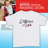 Youth T-Shirt Raising Dion Esperanza Netflix Sammi Haney disability special needs inclusion diversity different does not equal less acceptance