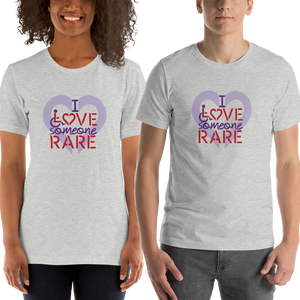 shirt I Love Someone with a Rare Condition medical disability disabilities awareness inclusion inclusivity diversity genetic disorder