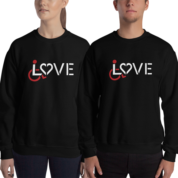 LOVE (for the Special Needs Community) Sweatshirt Dark Colors