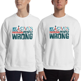 sweatshirt my child loves proving people wrong special needs parent parenting expectations disability special needs awareness wheelchair