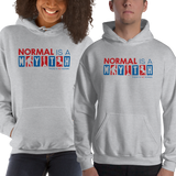 hoodie normal is a myth big foot mermaid unicorn peer pressure popularity disability special needs awareness inclusivity acceptance activism