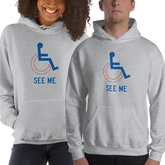 see me not my disability wheelchair inclusion inclusivity acceptance special needs awareness diversity