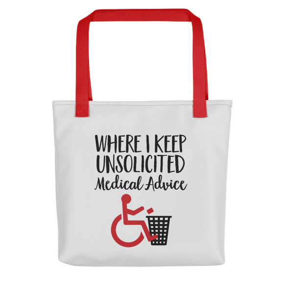 Unsolicited Medical Advice (Tote Bag)