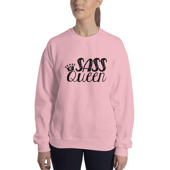 sweatshirt Sass Queen Fan Sammi Haney Esperanza Netflix Raising Dion sassy wheelchair pink glasses disability osteogenesis imperfecta