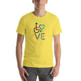 LOVE (for the Special Needs Community) Stacked Design 3 of 3
