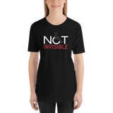 Not Invisible (Adult Dark Color Shirts)